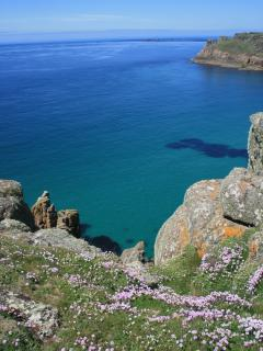 The spectacular West Penwith Coast near Land's End, only 10 minutes drive away.