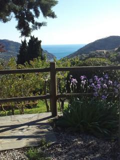 Vista panoramica su Levanto dalla frazione 'Dosso'