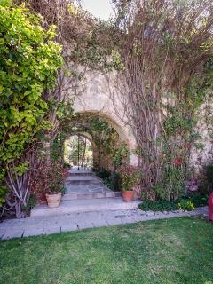 Entrance way to Casa Zen