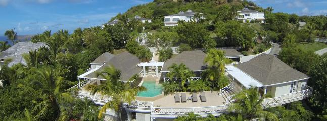 SPECIAL OFFER: St. Barths Villa 153 Close To The Geographic Center Of St Barths With A Panoramic View Of The Ocean., St. Jean