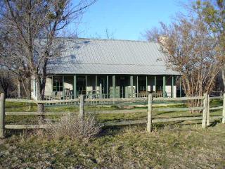 RUSTIC TEXAS FARMHOUSE AND LOG CABIN, Bluff Dale