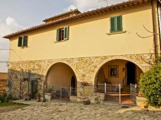Typical house in Chianti