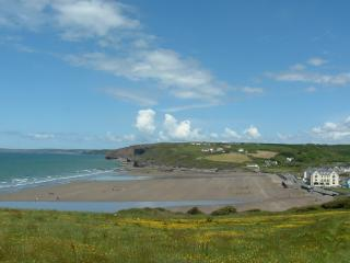 Broad Haven Beach at Low Tide