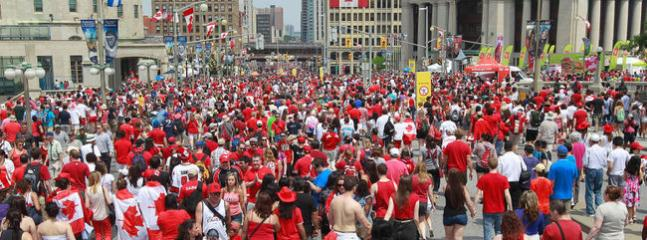 Canada Day celebrations on Parliament Hill — the only place to be on July 1 if you're Canadian