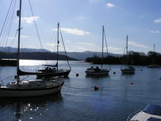 View down the estuary towards Portmeirion