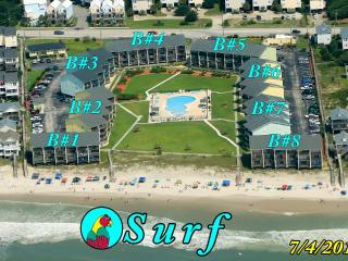 Surf Condo 436 Oceanview! | Community Pool, Internet, Surf City