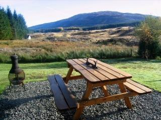 Stunning views from the front patio area and dining table