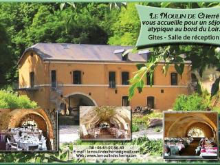 Gite vert Moulin de Cherre, Aubigne-Racan