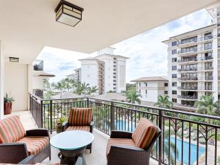 Relaxing 4th floor 3br/3ba villa with Pool View - Ocean Tower Villa - Ko Olina Beach Villa, Kapolei