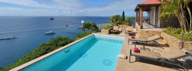 SPECIAL OFFER: St. Barths Villa 162 The Sun Addicts Will Love The Pool And The Terrace., Anse des Flamands
