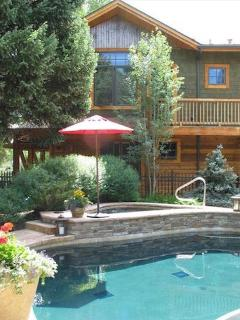 Pool available in the summer. Enjoy the hot tub all year.