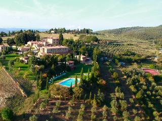 Villa in Asciano, Siena And Surroundings, Tuscany, Italy, Farnetella