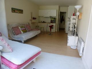 Appartement studio 31 m2 3 personnes + piscine + terrasse + 2 tennis