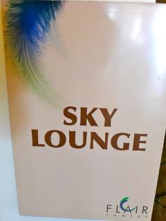 Sky lounge on top of each tower, fantastic view.
