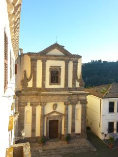 the church of roccalvecce
