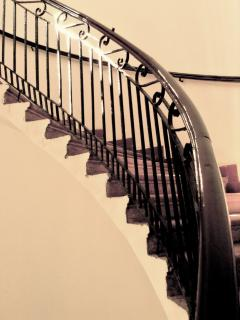 The stairway is an art dating back to 1850