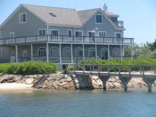 Large water front property with dock, Falmouth