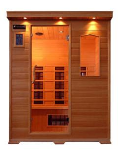 New 3-person sauna