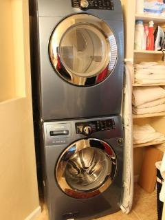 Modern washer and dryer