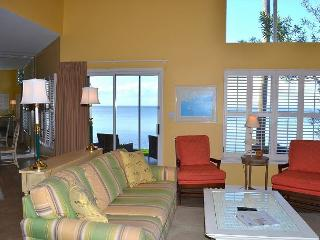 Bayfront townhome w/ tram to beach, shops, dining, events! Very private!, Miramar Beach