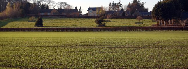 Barley Cottage from the field