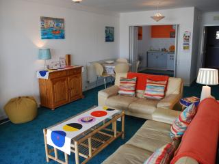 Lounge Area Barracuda Apartment, Benllech