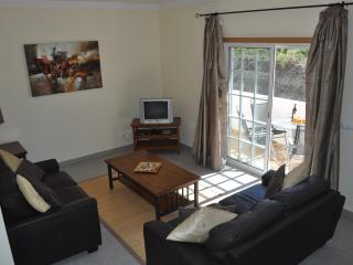 Lounge, air conditioned as are the bedrooms, is furnished to a high standard. English tv channels