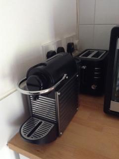Krupps espresso machine