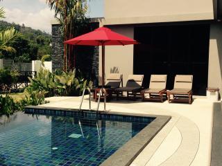 New villa with private pool and big garden, Nai Harn