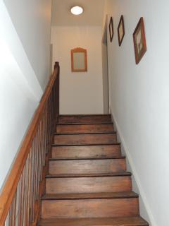couloir allant aux chambres