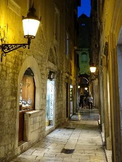Town Split and it`s charming old streets