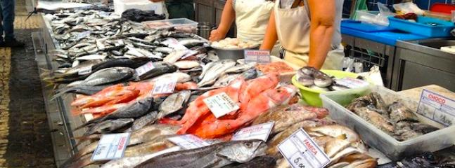 Nazare fish market