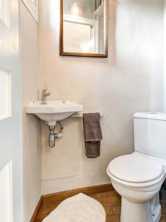 A separate toilete