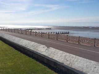 Bognor beach front, just yards away