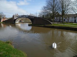 Luxury ground floor canal side apartment, Coventry