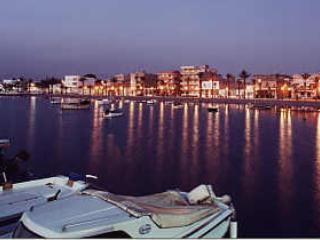 The Stunning Mar Menor at Night and the nearby Restaurant lined Marina !
