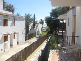 Apartamento 1ª linea de la playa Carregador, Alcossebre
