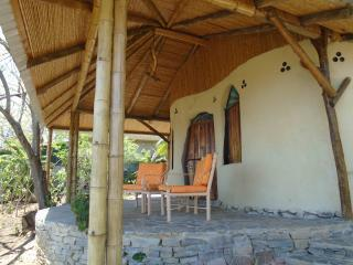 Side View of Porch