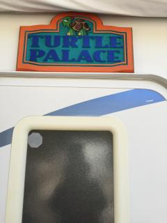 Entrance to Turtle Palace camper