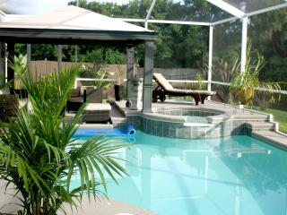 Florida Spa Retreat Pool Home, Convenient Location