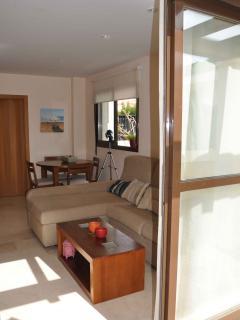 Salon con acceso directo terraza privada