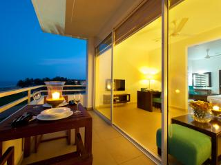 Suites with balconies with direct seaview