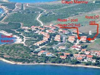 Apartament 150Mt sea 2+2 Bed Capo Mannu Sardinia