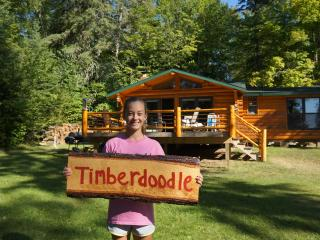 Turtle Lake Vintage Log Cabins the Timberdoodle