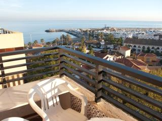 Panoramic seaview in beachfront hotel, Torremolinos