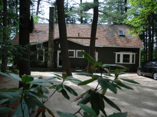 Stunning Forest Lake Home with Hot Tub!, Winchester