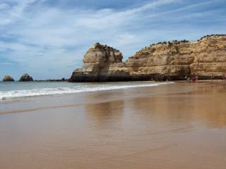 Ótima localização 1 cama apartamento na Praia da Rocha