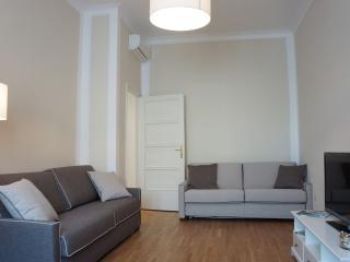 Living room sofa view