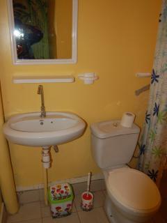 green room private bathroom