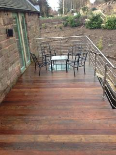 Just a small part of the decking